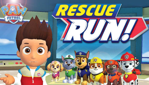 Paw patrol: Rescue run poster