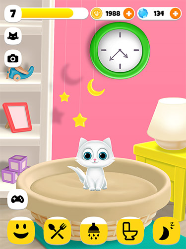 Screenshots von Paw paw cat für Android-Tablet, Smartphone.