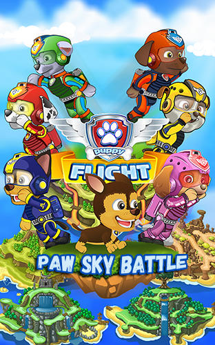 Paw sky battle: Puppy flight