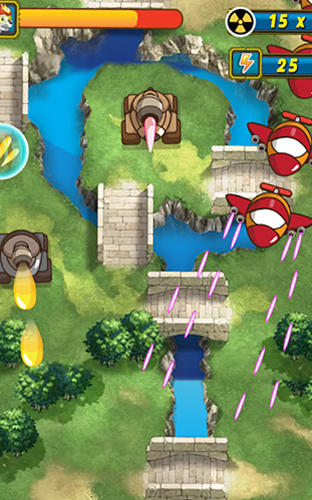Screenshots von Paw sky battle: Puppy flight für Android-Tablet, Smartphone.