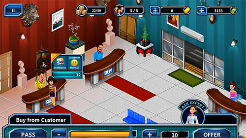 Capturas de pantalla de Pawn empire 2: Pawn shop games and bid battle para tabletas y teléfonos Android.