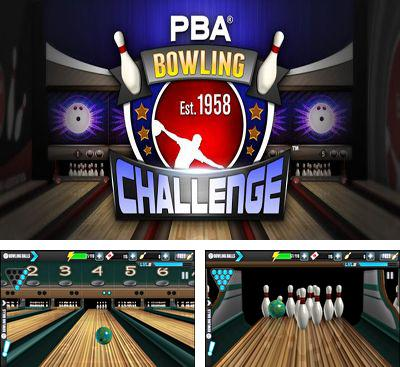 In addition to the game Rocka Bowling 3D for Android phones and tablets, you can also download PBA Bowling Challenge for free.