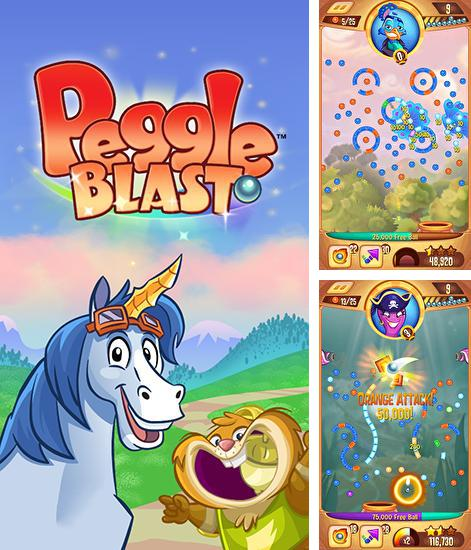 In addition to the game Peggle for Android phones and tablets, you can also download Peggle blast for free.