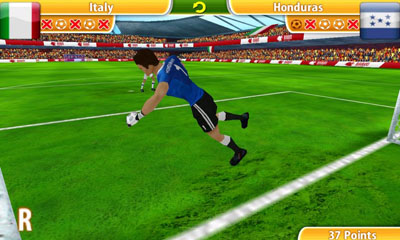 Screenshots von Penalty World Challenge 2010 für Android-Tablet, Smartphone.