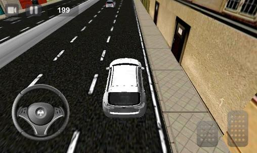 Screenshots von Perfect racer: Car driving für Android-Tablet, Smartphone.
