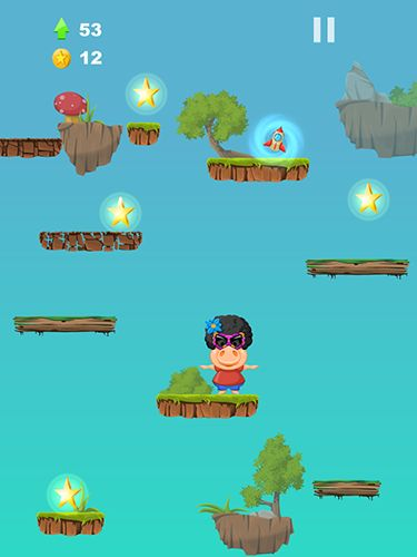 Screenshots von Perry pig: Jump für Android-Tablet, Smartphone.
