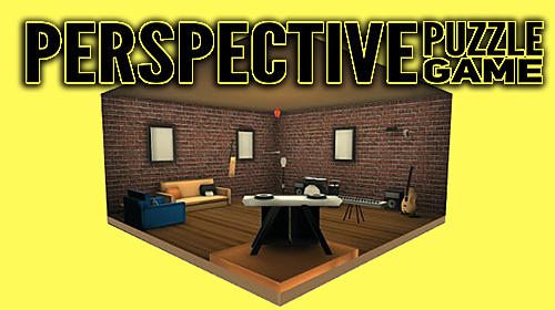 Perspective puzzle game poster
