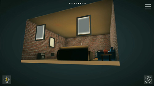 Perspective puzzle game screenshot 1