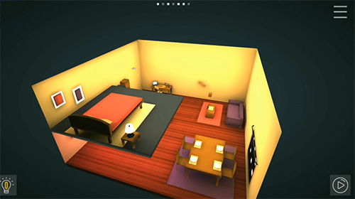 Perspective puzzle game screenshot 2