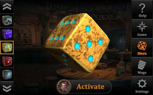 Screenshots do Dice arena - Perigoso para tablet e celular Android.