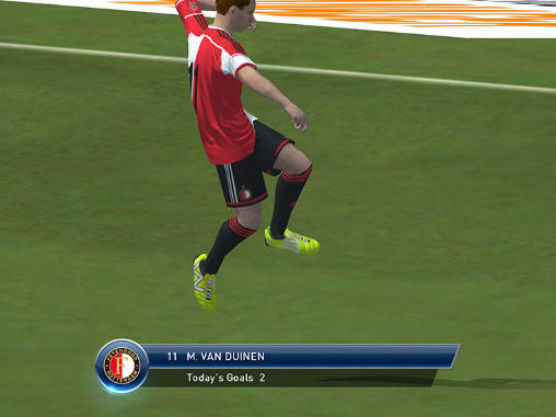 Screenshots do PES club manager - Perigoso para tablet e celular Android.