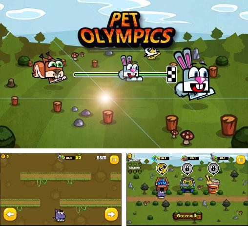 In addition to the game Frog candys: Yum-yum for Android phones and tablets, you can also download Pet olympics: World champion for free.