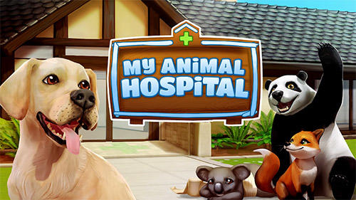 Pet world: My animal hospital. Care for animals poster