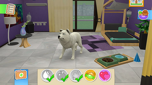 Capturas de pantalla de Pet world: My animal hospital. Care for animals para tabletas y teléfonos Android.