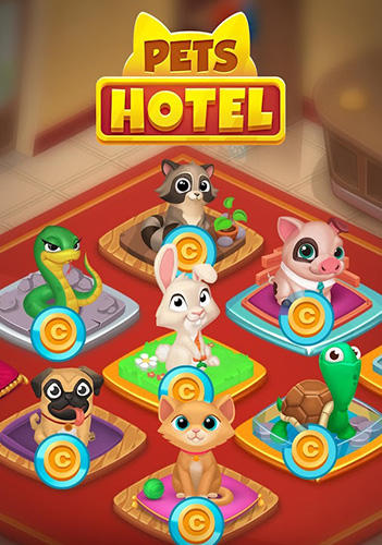 Pets hotel: Idle management and incremental clicker обложка