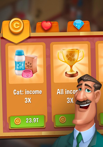 Pets hotel: Idle management and incremental clicker screenshot 1