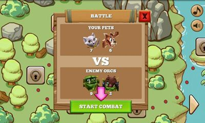Screenshots do Pets vs Orcs - Perigoso para tablet e celular Android.