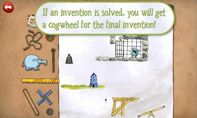 Screenshots of the Pettson's Inventions for Android tablet, phone.