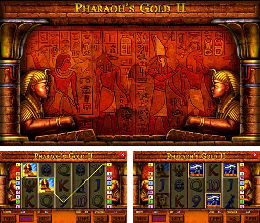 Pharaoh's gold 2 deluxe slot