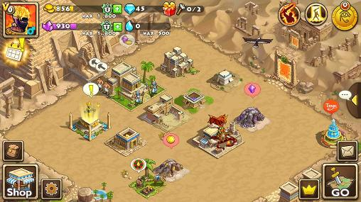 Download Pharaoh's war Android free game.