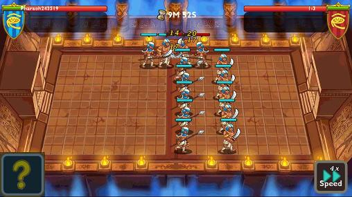 Screenshots of the Pharaoh's war for Android tablet, phone.