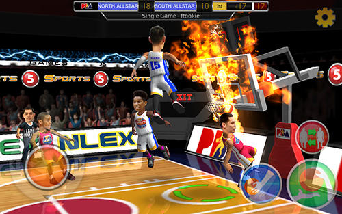 Philippine slam! Basketball für Android spielen. Spiel Philippine Slam! Basketball kostenloser Download.