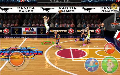 Screenshots von Philippine slam! Basketball für Android-Tablet, Smartphone.