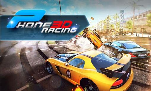 Phone racing 3D. Car rivals: Real racing