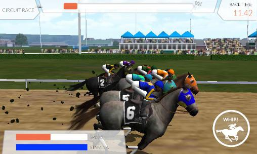 Screenshots do Photo finish: Horse racing - Perigoso para tablet e celular Android.