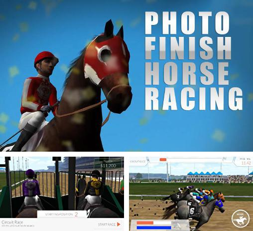 En plus du jeu Chevaux de course, les champions 2  pour téléphones et tablettes Android, vous pouvez aussi télécharger gratuitement Photo finish: Courses à cheval, Photo finish: Horse racing.
