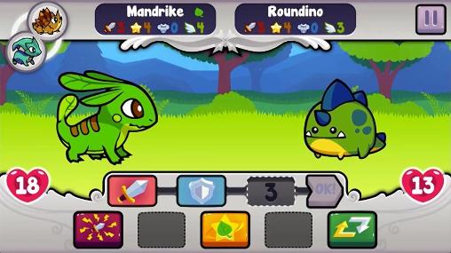 Kostenloses Android-Game Pico Pets: Kampf der Monster. Vollversion der Android-apk-App Hirschjäger: Die Pico pets: Battle of monsters für Tablets und Telefone.