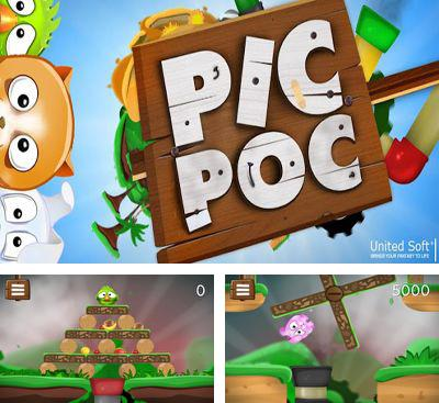 In addition to the game Swingworm for Android phones and tablets, you can also download PicPoc for free.