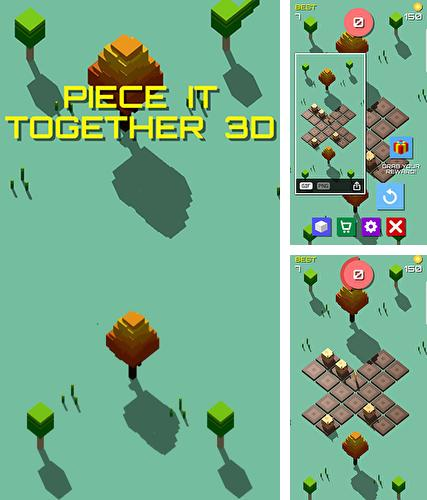 Piece it together 3D: Puzzle game