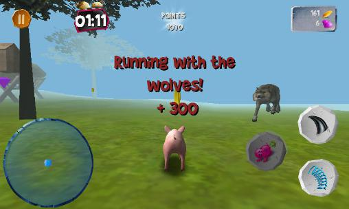 Screenshots von Pig simulator für Android-Tablet, Smartphone.