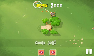 Screenshots of the Pigs in Trees for Android tablet, phone.