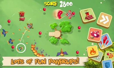Screenshots do Pigs in Trees - Perigoso para tablet e celular Android.