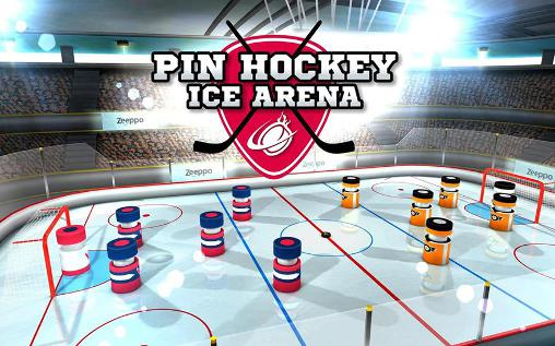 Pin hockey: Ice arena poster