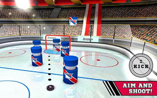 Pin hockey: Ice arena screenshot 1