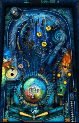 Pinball fantasy HD screenshot 1