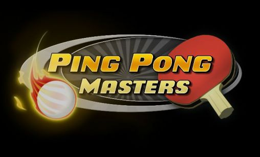 Ping pong masters poster