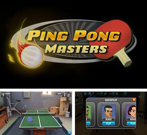 In addition to the game World Cup Table Tennis for Android phones and tablets, you can also download Ping pong masters for free.