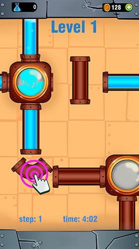 Screenshots do Pipe line connect: Water plumber puzzle game - Perigoso para tablet e celular Android.