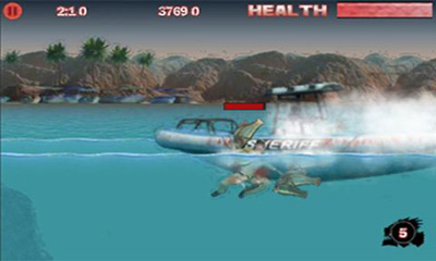 Piranha 3DD The Game screenshot 2
