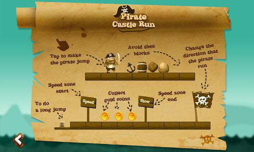 Скачати гру Pirate castle run на Андроїд телефон і планшет.