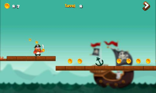 Гра Pirate castle run на Android - повна версія.