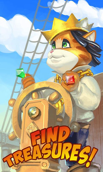 Screenshots von Pirate cat: Saga für Android-Tablet, Smartphone.