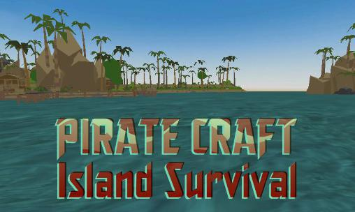 Pirate craft: Island survival poster