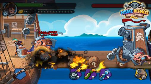 Pirate defense screenshot 1