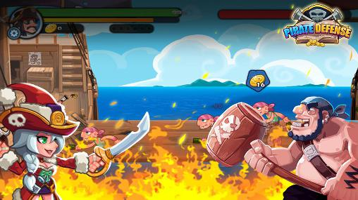 Pirate defense screenshot 2