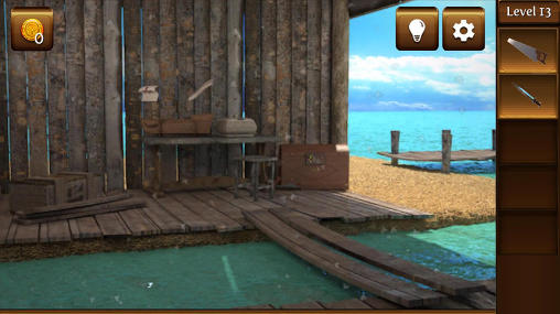 Screenshots von Pirate escape für Android-Tablet, Smartphone.